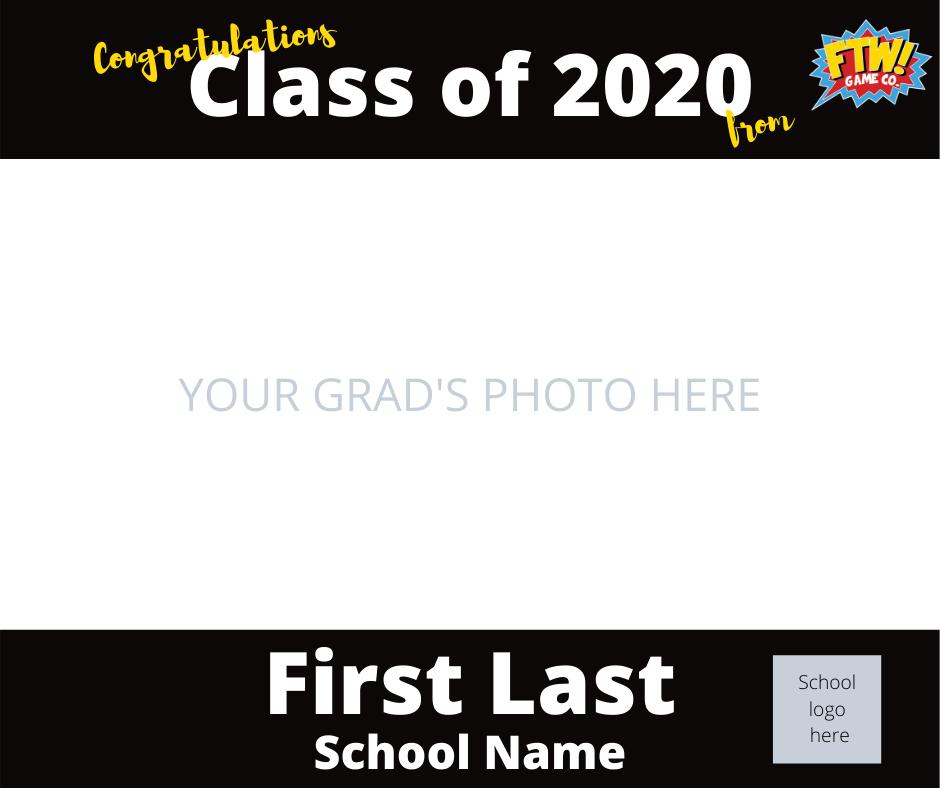 Grad Photo Template